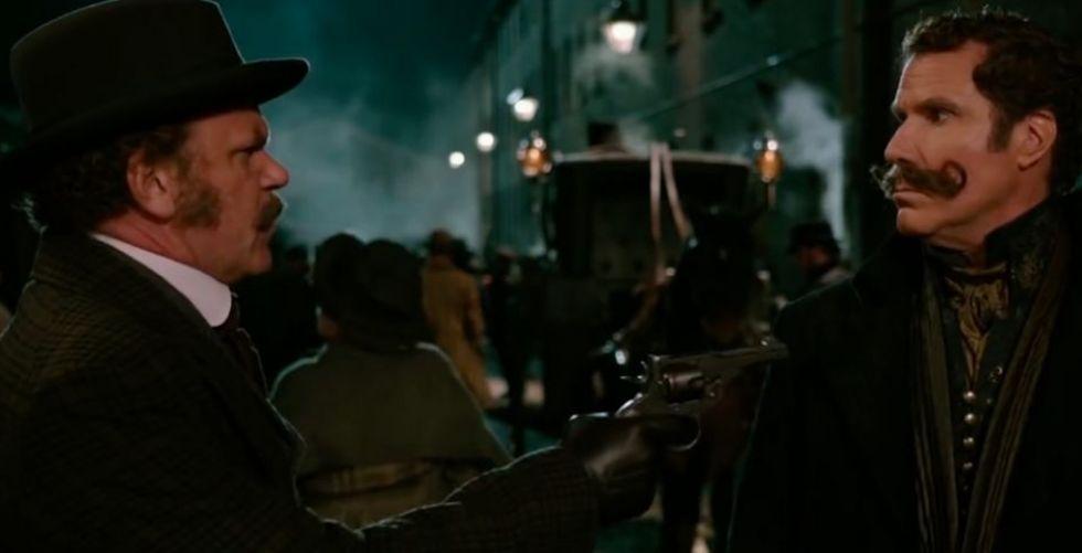 نكاتٌ ذكية في فيلم هولمز وواطسون