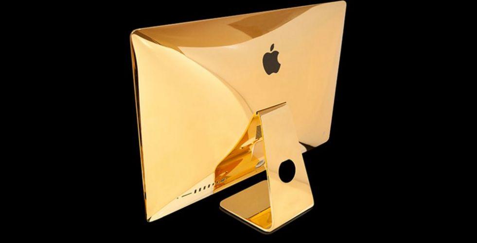 أجهزة آبل مطليّة بالذهب