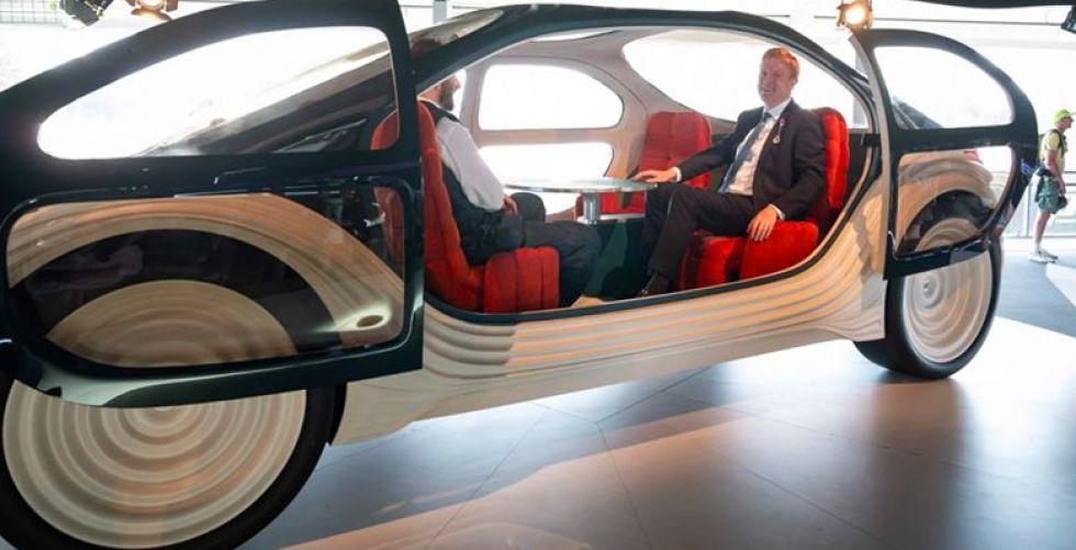 سيارة العصر: تكافح التلوث وتقدم خدمات الحياة