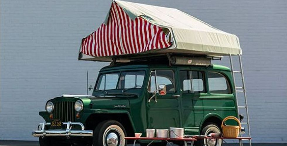 سيارة التخييم الكلاسيكية