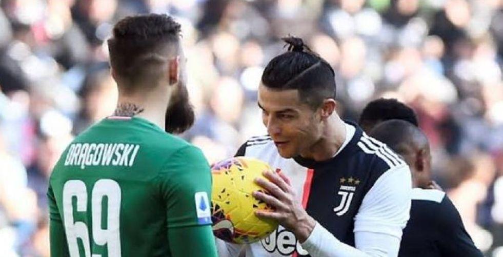 رونالدو يواصل التسجيل في الدوري الايطالي