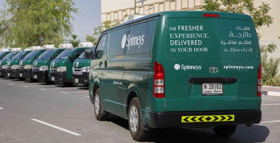 سبينس تُطلق خدمة توصيل الطلبات عبر الإنترنت في دبي