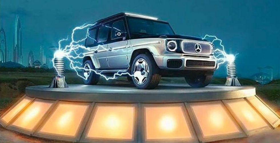 مرسيس السبّاقة في سيارة المستقبل