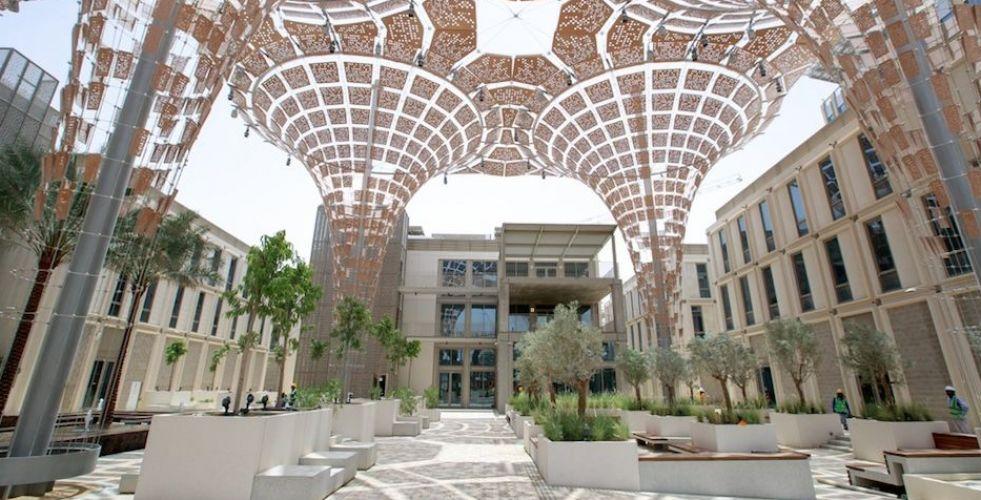 إكسبو2020 دبي ينتهي من بناء مناطق الموضوعات الثلاثة