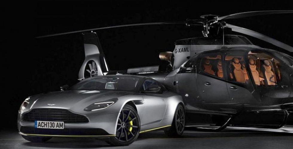 أستون مارتن وإيرباص في دمج الطيران مع السيارة