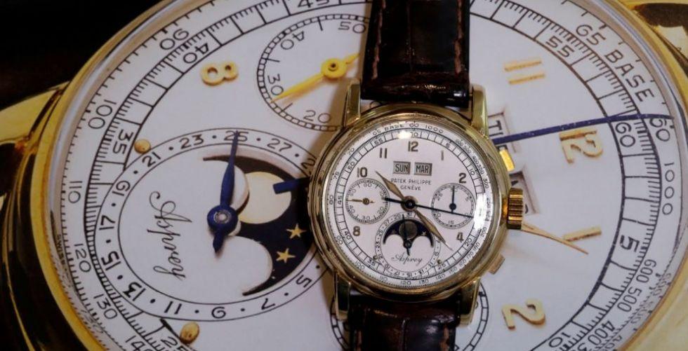 ساعة باتك فيليب الأغلى في Sotheby