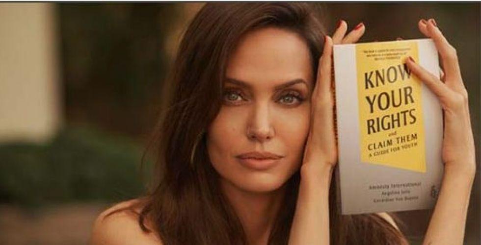 كتاب أنجلينا جولي الجديد يُحرّض
