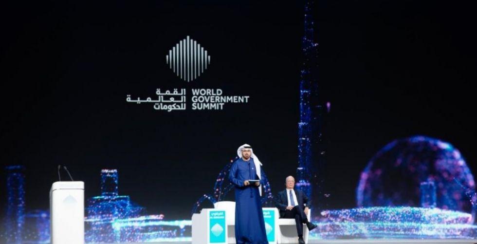 في كلمته الافتتاحية في القمة العالمية للحكومات