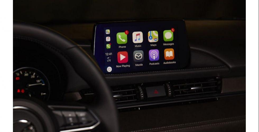 مازدا تدمج مساعدي CarPlay و Android Auto في سياراتها