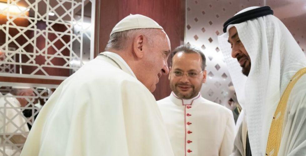 بماذا غرّد قداسة البابا على تويتر في رسالة الى الامارات؟