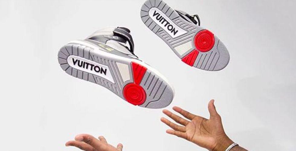 الحذاء الهوائي للويس فيتون