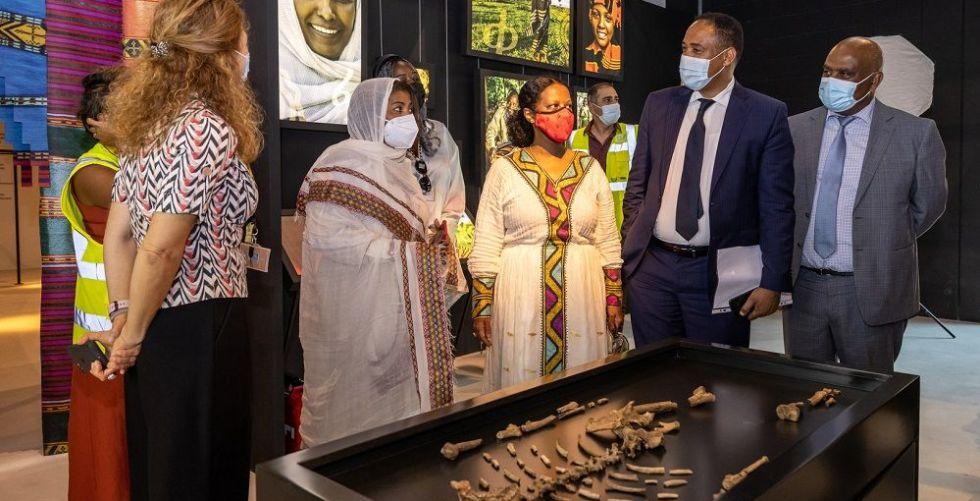 جناح إثيوبيا يحتفي بأقدم أسلافنا