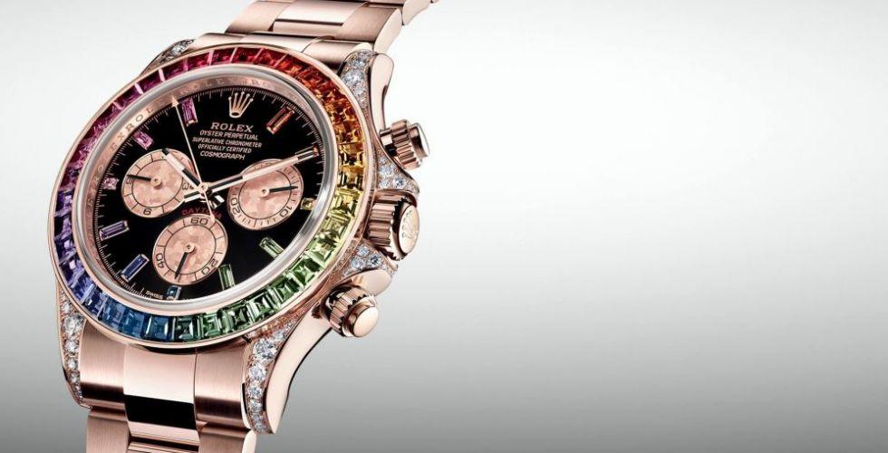رفاهية زاهية من Rolex