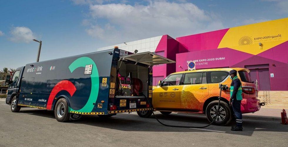 اينوك لينك تزود أسطول مركبات إكسبو 2020 دبي بالوقود