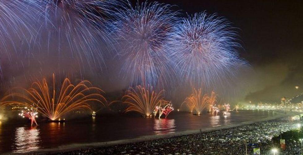 ليلة رأس السنة على شاطئ ريو دي جانيرو
