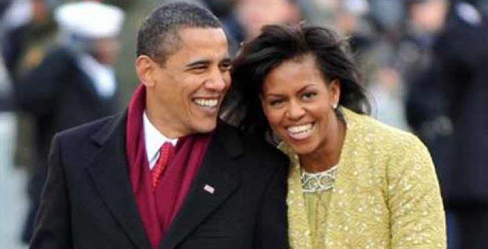 باراك وميشيل أوباما لبث تدوينات صوتية