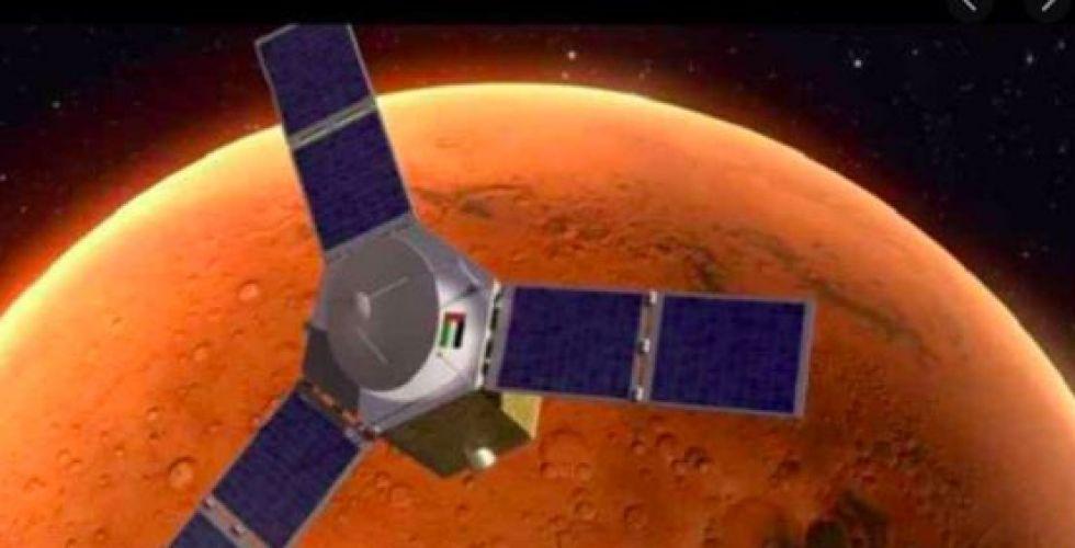 مسبار الأمل في اتجاه المريخ