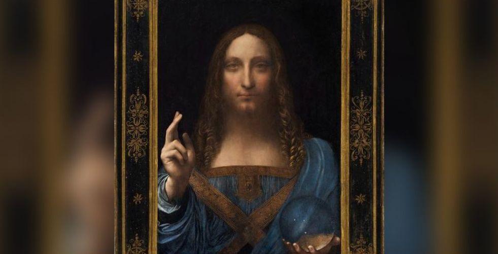 أبو ظبي  اشترت لوحة المسيح