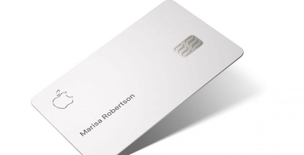 بطاقة ائتمان أنيقة من آبل