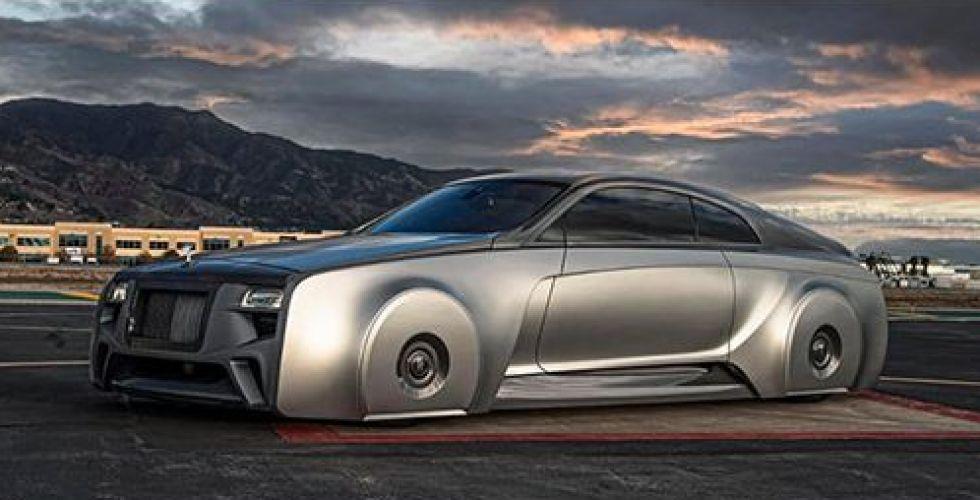 رولز رويس في سيارة المستقبل