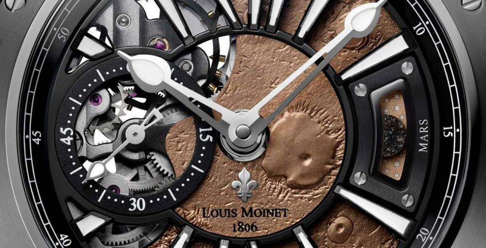 Mars.. مغامرة Louis Moinet الجديدة