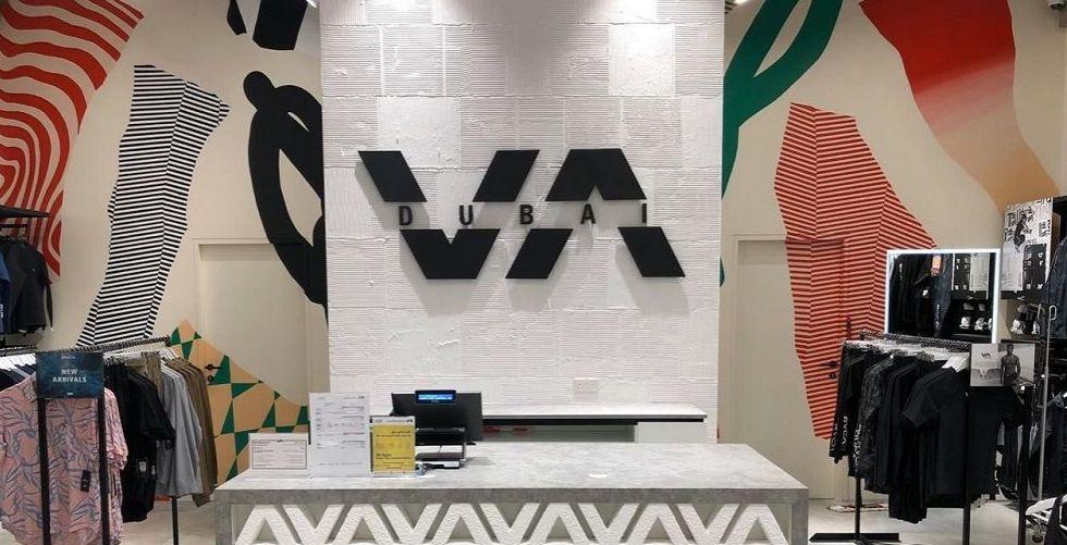 RVCA في مبادرة سبّاقة لمفهوم التجزئة في الإمارات في دبي مول.