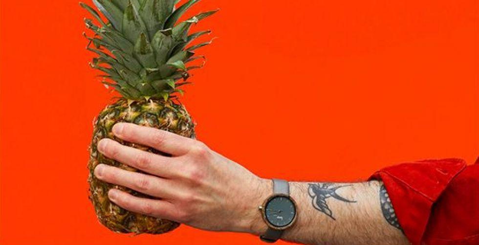 ساعة نباتية مئة في المئة