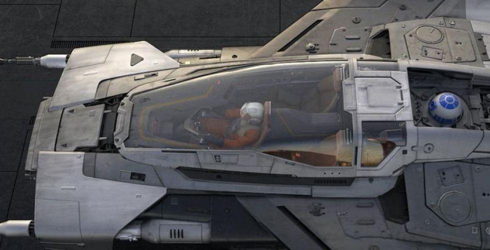 بورشه في تصميم مركبة لحرب النجوم