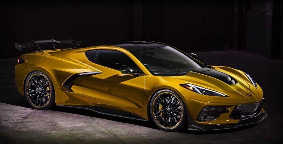 Chevy Corvette Z06  قد تكونZR1
