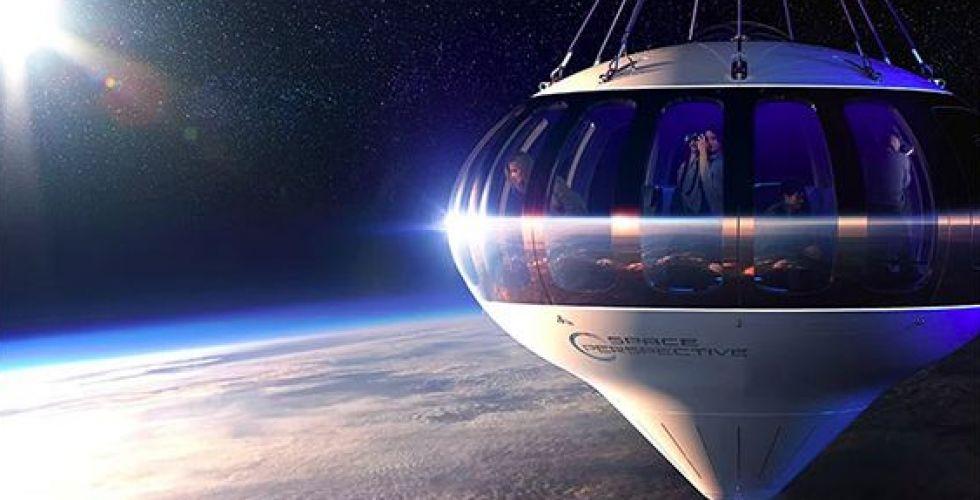 الرحلة في الفضاء عبر البالون الطائر