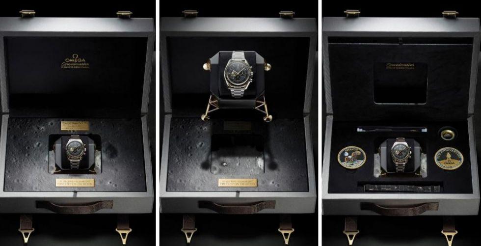 Omega تحتفل.. ٥٠ سنة على أوّل خطوة على القمر