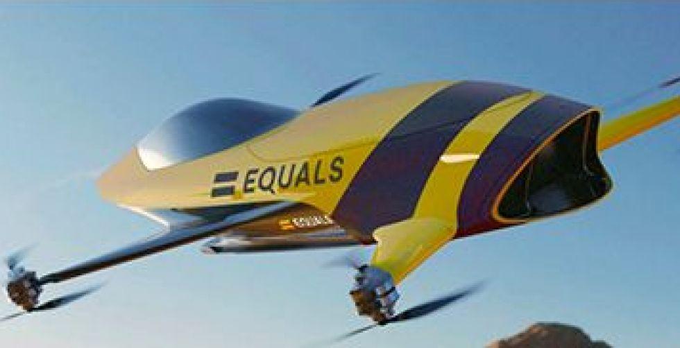 السيارة الطائرة الحقيقة السبّاقة