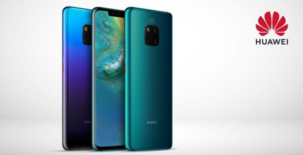 Huawei Mate 20 Pro الأوفر حظاً للفوز بمعركة أفضل هاتف هذه السنة
