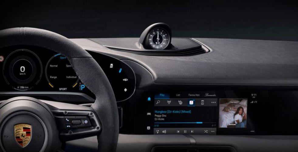 Porsche  في شراكة مع Apple Music