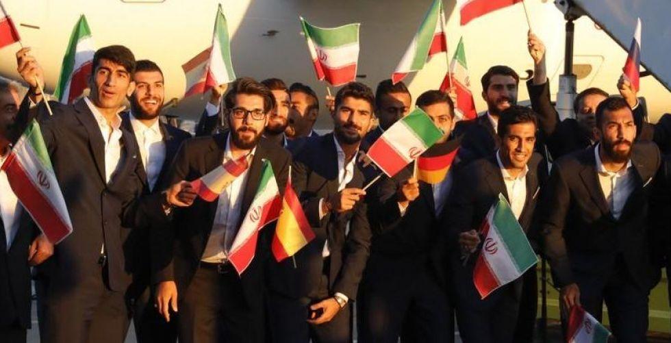 المنتخب الايراني أول الواصلين الى روسيا