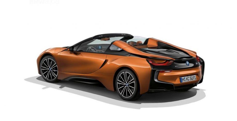 رزمة الأيروديناميّات لل BMW i8 Roadster