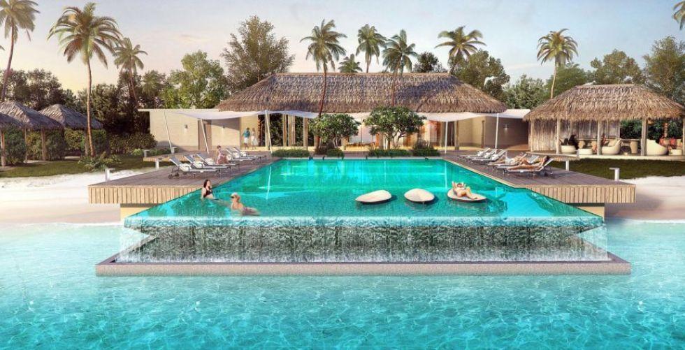 سحر ورفاهيّة في فندق إنتركونتيننتال في المالديف