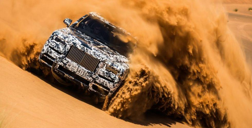 التحدّي الكبير لرولز- رويس Cullinan  في دبي