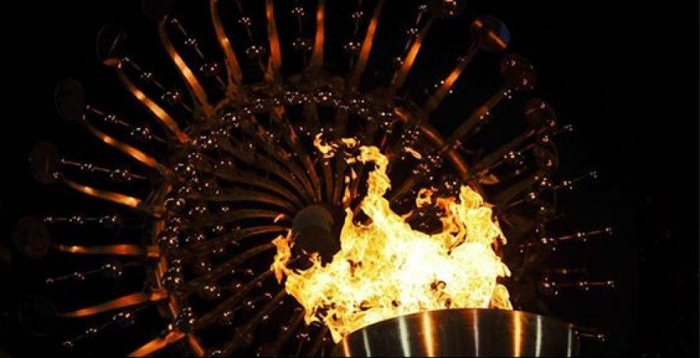 إضاءة الشعلة الأولمبية في التاريخ