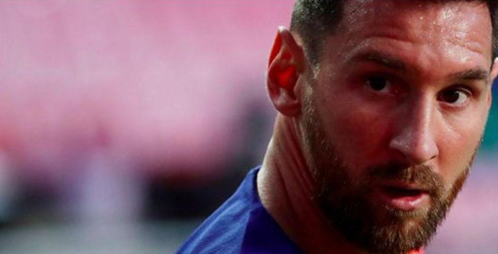 برشلونة في مأزق جديد بعد قرار ميسي الرحيل