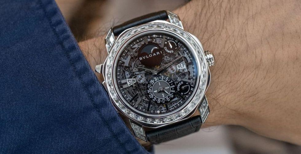 Bulgari تُقدّم أعقد الساعات صُنعًا بمليون دولار!