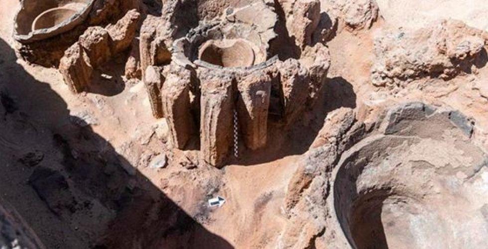 مصنع فرعوني في مصر لطقوس الدفن الملكي