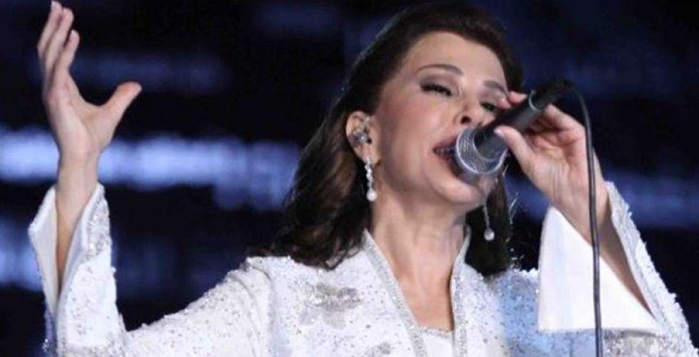 ماجدة الرومي تلهب الجمهور بيا ست الدنيا يا بيروت