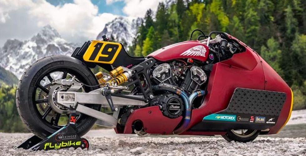 appaloosa V2.0 الدراجة التي تسحق الجليد