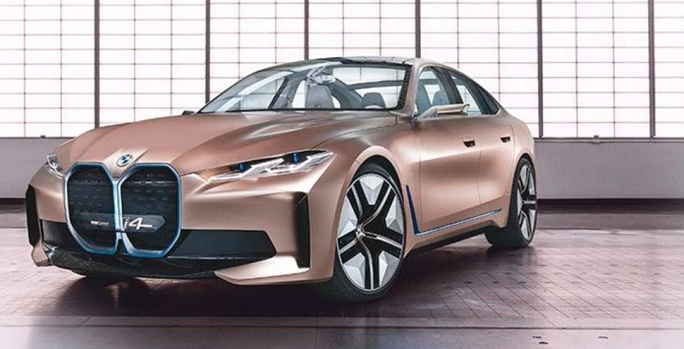BMW i4القوة البصرية