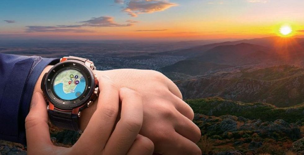 كاسيو تطرح طرازاً جديداً من ساعة PRO TREK  الذكية