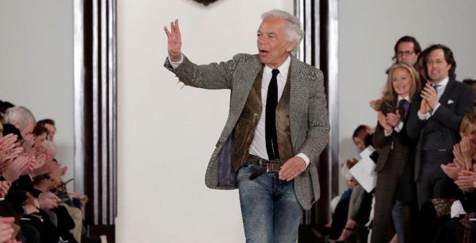 رالف لورين يحتفل بخمسين عاما من مسيرته