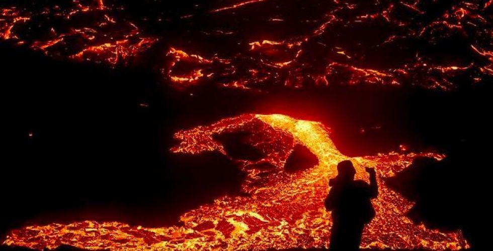 بركان أيسلندا لم يزعج أحدا