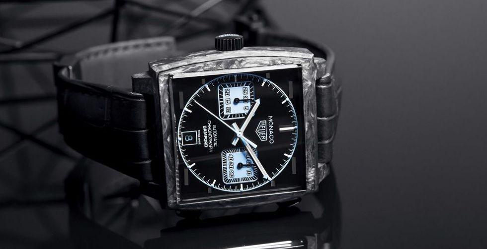 شركة TAG Heuer تتعاون مع شركة  Bamford Watch Department