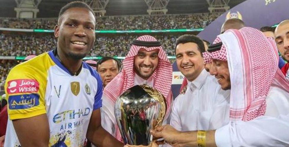 لقب السوبر السعودي لنادي النصر